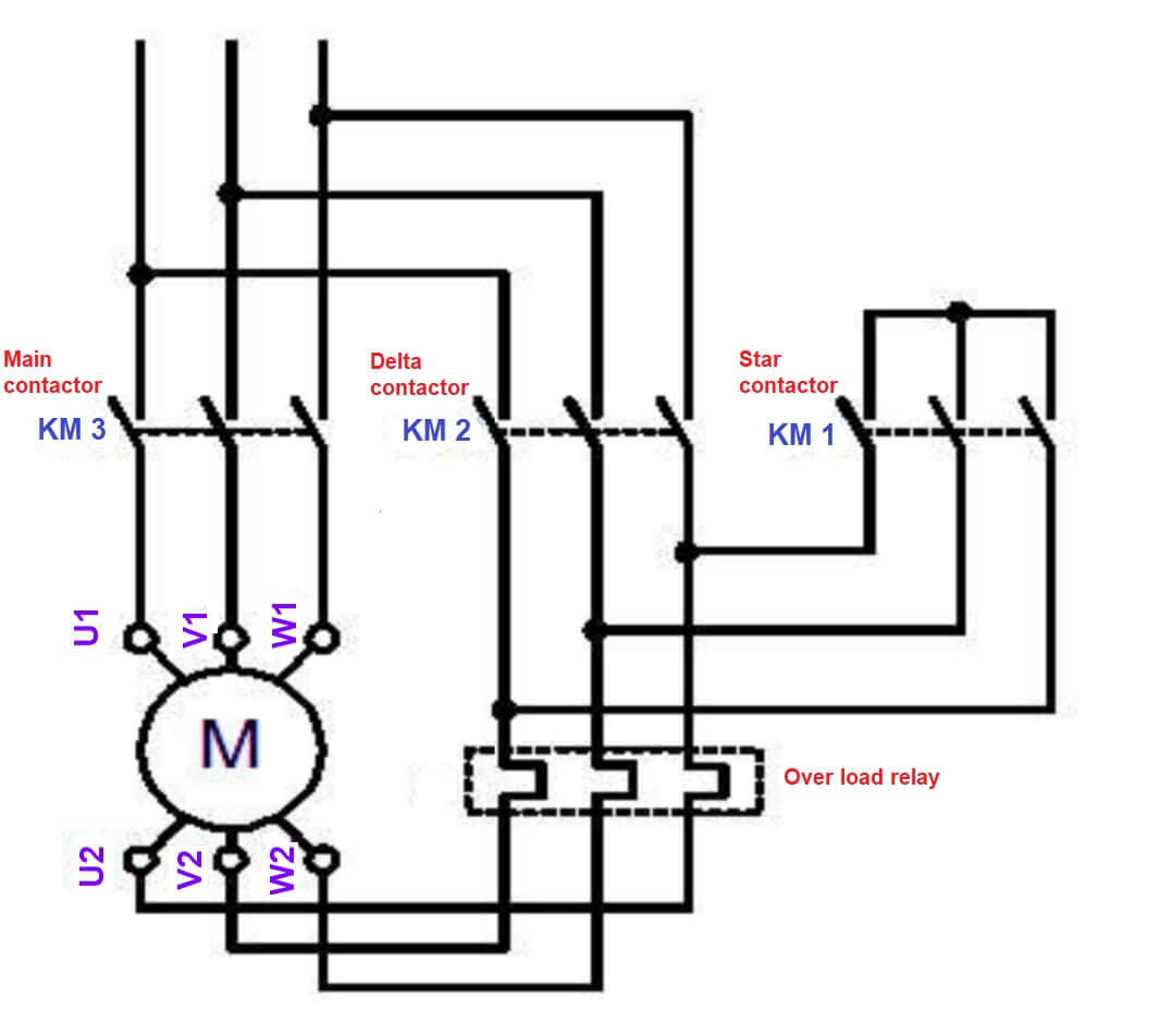 Star Delta Starter? Working principle,Theory, Circuit DiagramElectric Portal