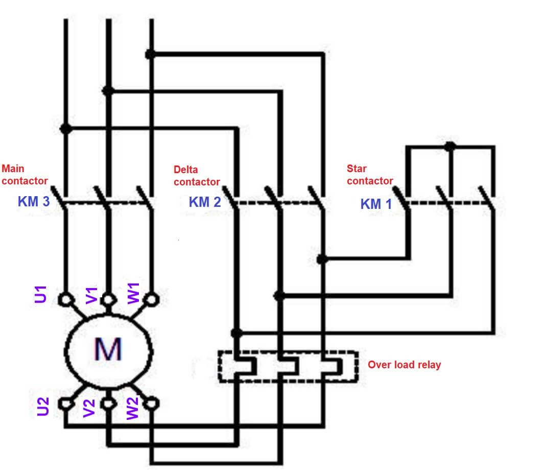 Wye Delta Starter Schematic   Wiring Diagram