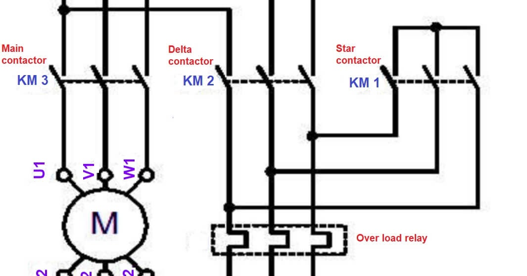 3 Phase Star Delta Motor Connection Diagram Pdf Lysanns