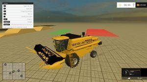 New Holland TC59 harvester