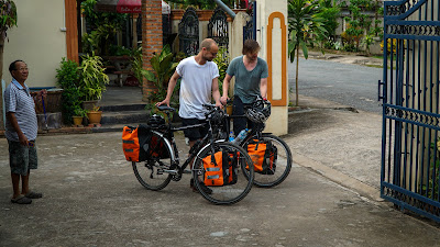 Packed up and ready to go from Luang Namtha