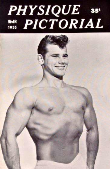 gay bodybuilding macazines in 50s 60s photos
