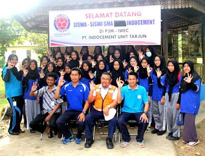 SMA Yasment Kunjungi P3M Indocement