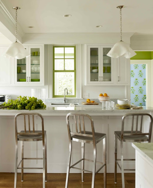 cottage kitchen white low budget remodel with impact