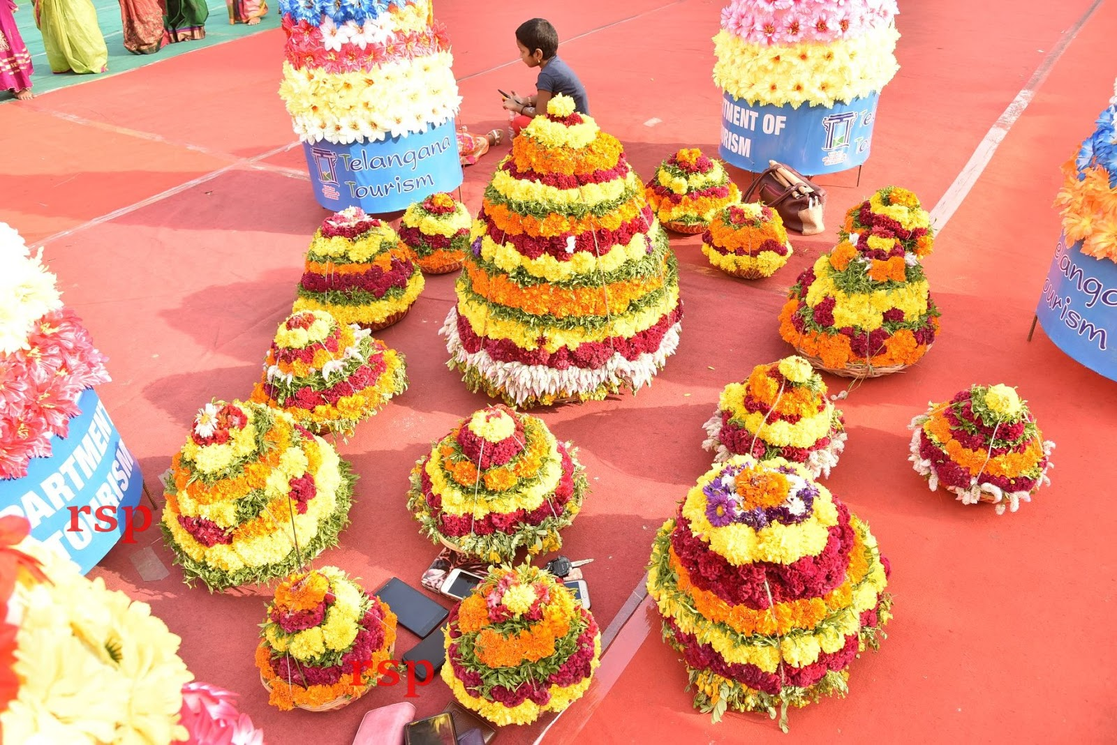 Telangana during Bathukamma