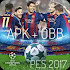 Download Pro Evolution Soccer 2017 v.1.0.1 APK OBB for Android