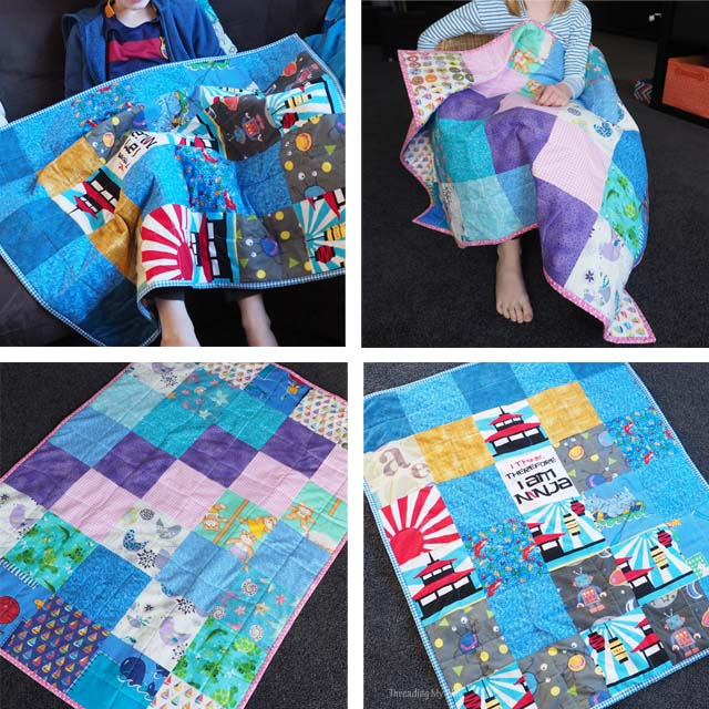 Tips for helping children learn to quilt ~ Threading My Way