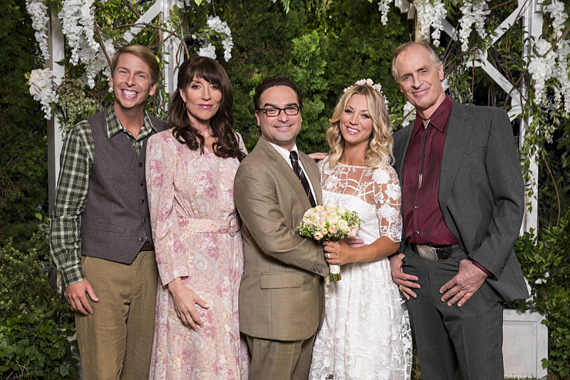 The Big Bang Theory 10x01 la familia de Penny