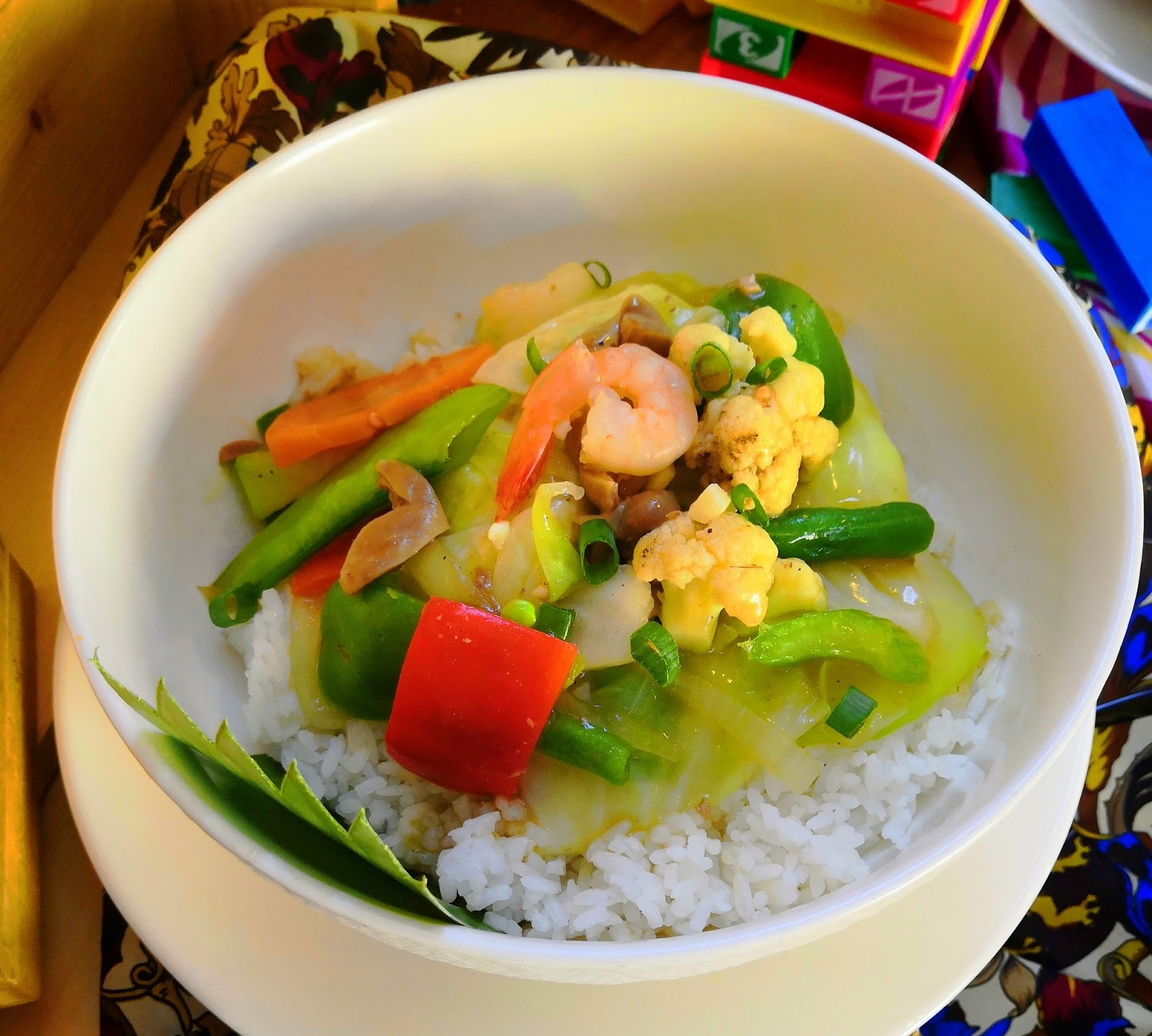 Chopsuey Rice Bowl