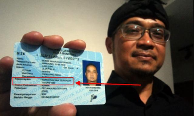 Bukan Hoax, Ternyata e-KTP Kolom Agama Kepercayaan Sudah Berlaku di Indonesia