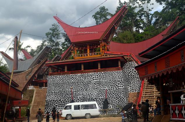 Tempat Upacara Rambu Solok Tana Toraja || jelajahsuwanto