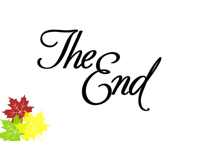 The End: Пустые баночки за сентябрь