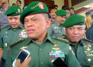 Panglima TNI Jendral TNI Gatot Nurmantyo Yakin Jika Australia sudah lama lakukan penghinaan terhadap Pancasila - Commando