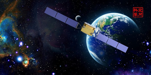 Concept figure of the DAMPE satellite (Image by NSSC)