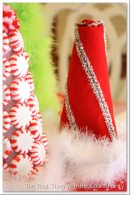 Table Decorating Ideas ~ Christmas Centerpiece