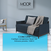 Castiga o canapea NEAT 120 in valoare de 1300 euro