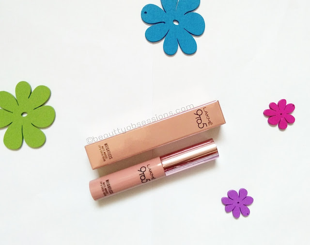 Lakme 9 to 5 Weightless Mousse Lip and Cheek Colour - Coffee Lite | Review