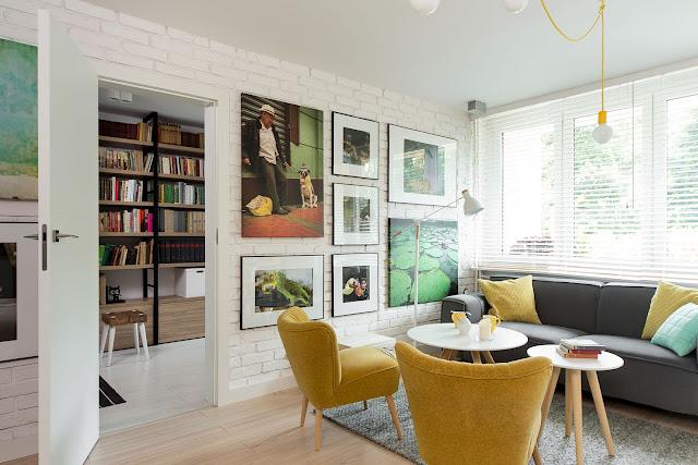 Blog Achados de Decoração, Apartamento decoração retrô e vintage