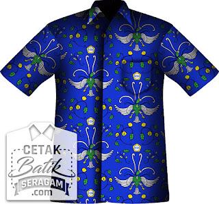 Cetak batik custom