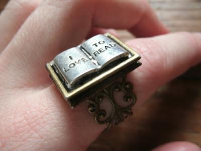 ring 99 - 10 Anéis para apaixonadas por livros