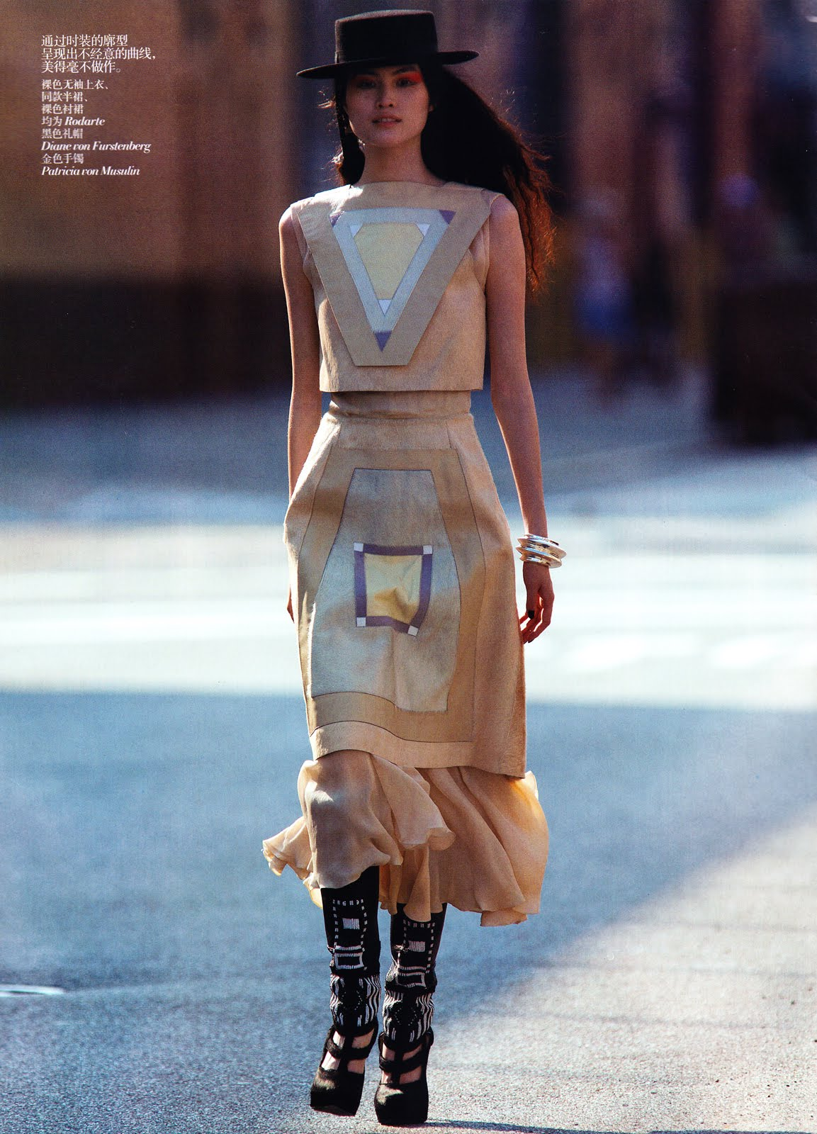 asian models blog  editorial  sui he in vogue china