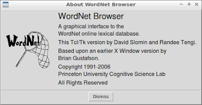WordNet Browser About