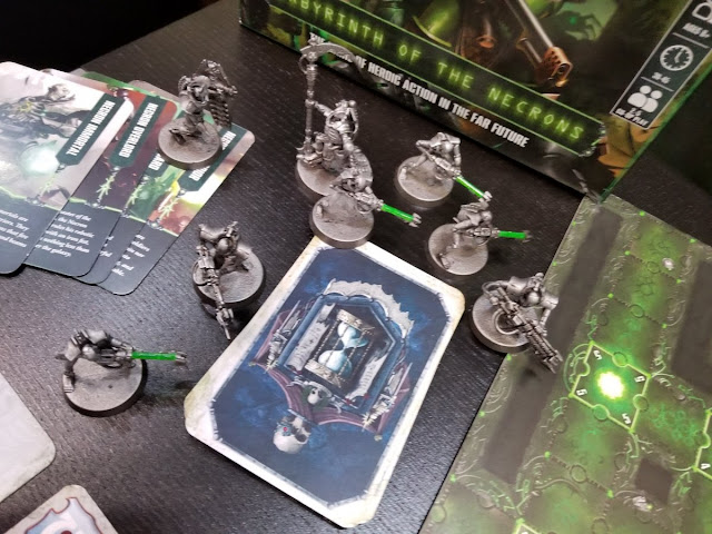 Labyrinth of the Necrons