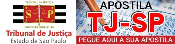concurso Tribunal de Justiça de São Paulo - TJSP 2017