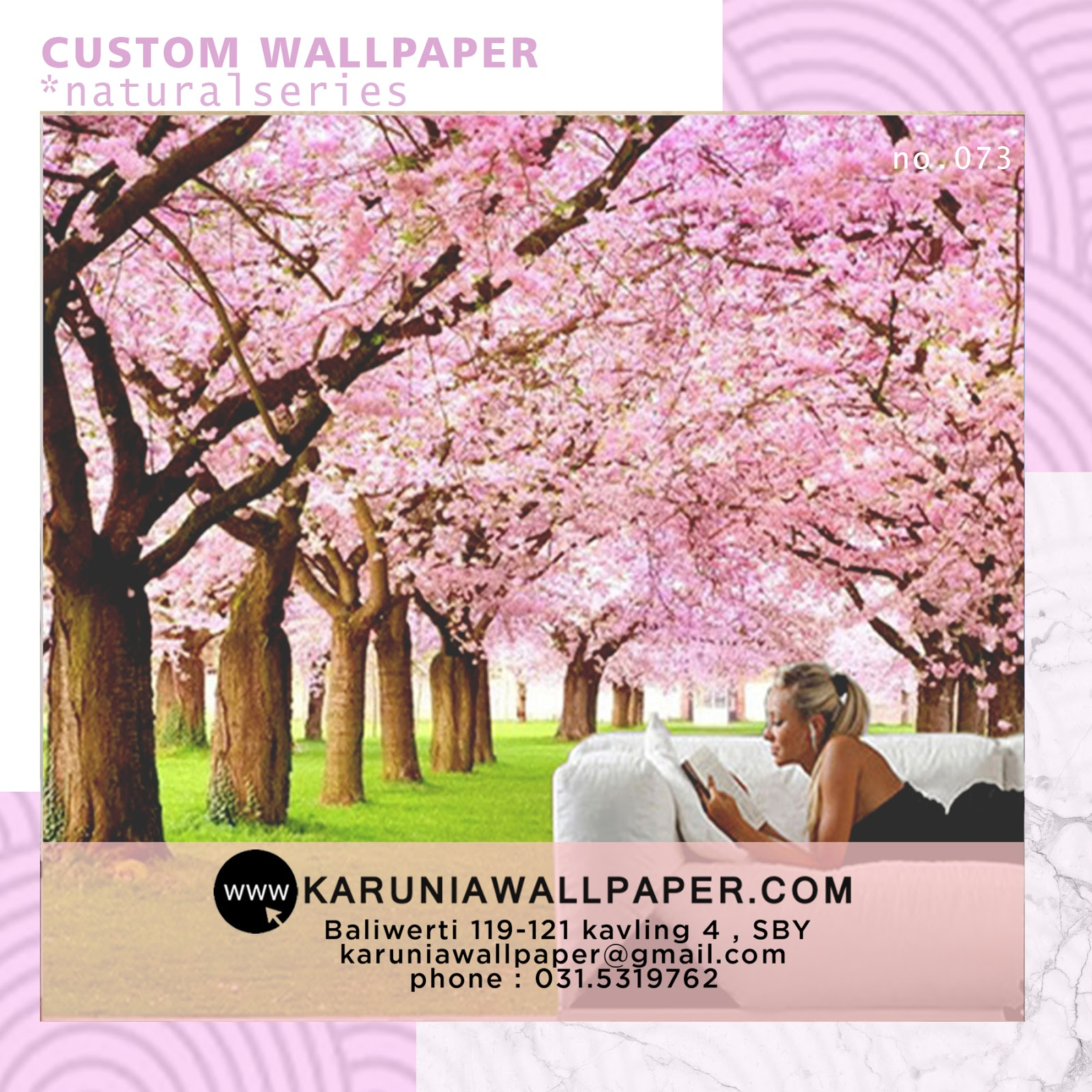jual wallpaper custom karuniawallpaper