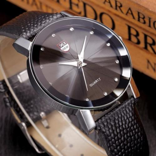 Men Stainless Steel Luxury Military Analog Sport Date Quartz Mens Wrist Watch