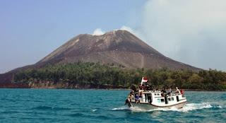 tempat wisata di lampung anak gunung krakatau