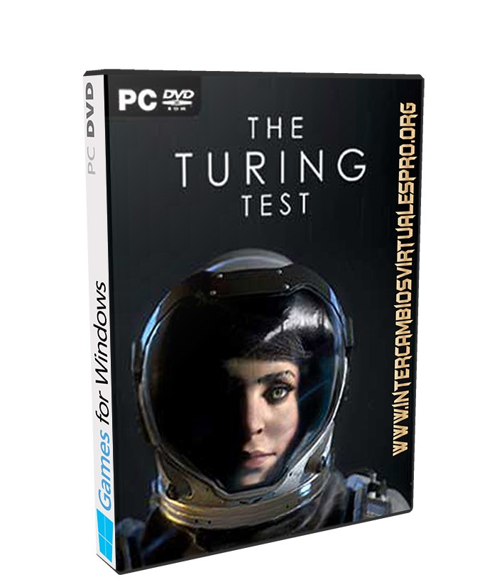 the turing test poster box cover