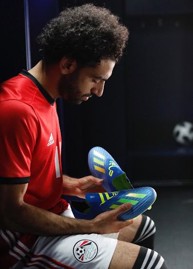 e68d8bdd50ce Special Adidas X 18+ Purespeed Salah 2018 World Cup Boots Revealed ...