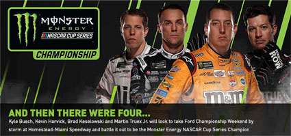 #MENCS Ford Championship - And Then There Were Four . . . #NASCAR