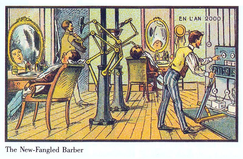 14-New-Fungled-Barber-Villemard-En-L-An-2000-wikimedia-Futurism-with-Illustrated-Postcards-from-the-1900s-www-designstack-co