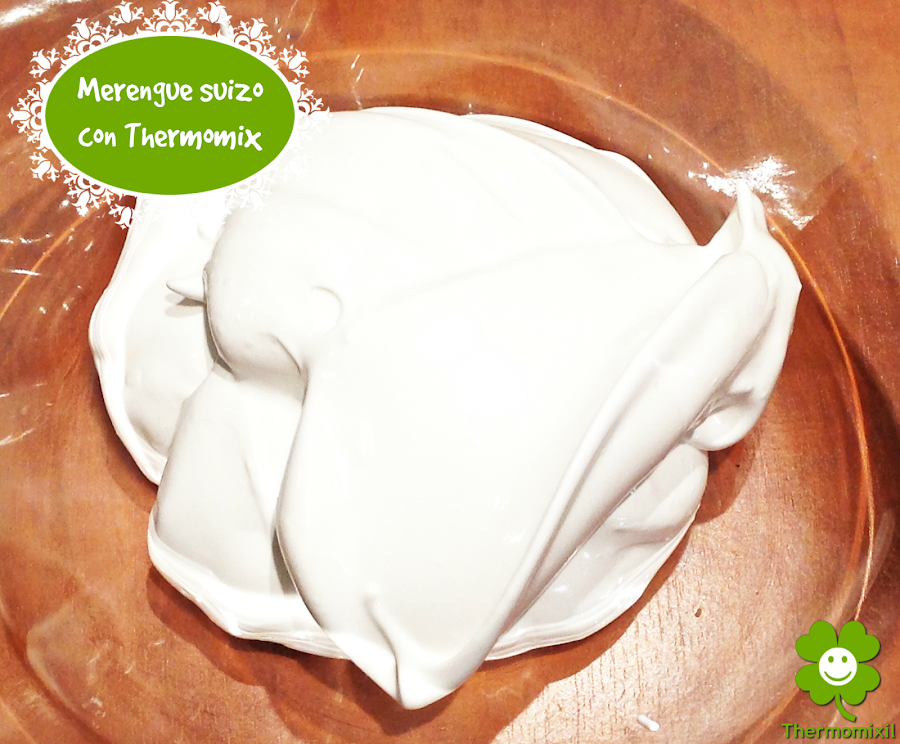 MERENGUE SUIZO CON THERMOMIX