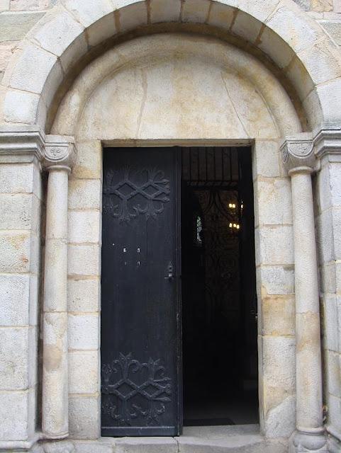 Romańska kolegiata w Kruszwicy - portal