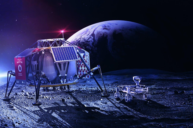Moon Set To Get It's Own 4G Mobile Network Soon