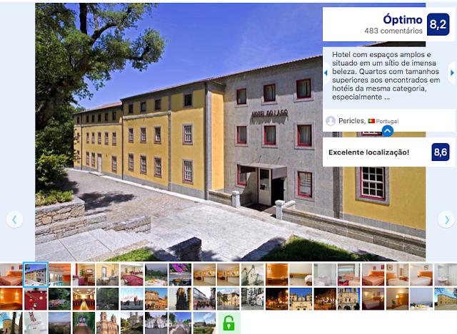 Hotel do Lago em Braga