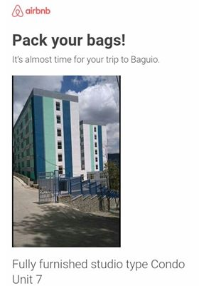 AirBnB Condo in Baguio City