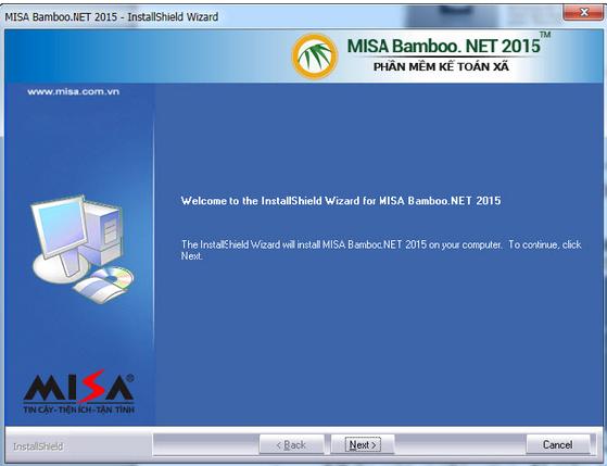 Hướng dẫn tải và cài đặt MISA Bamboo.NET 2015