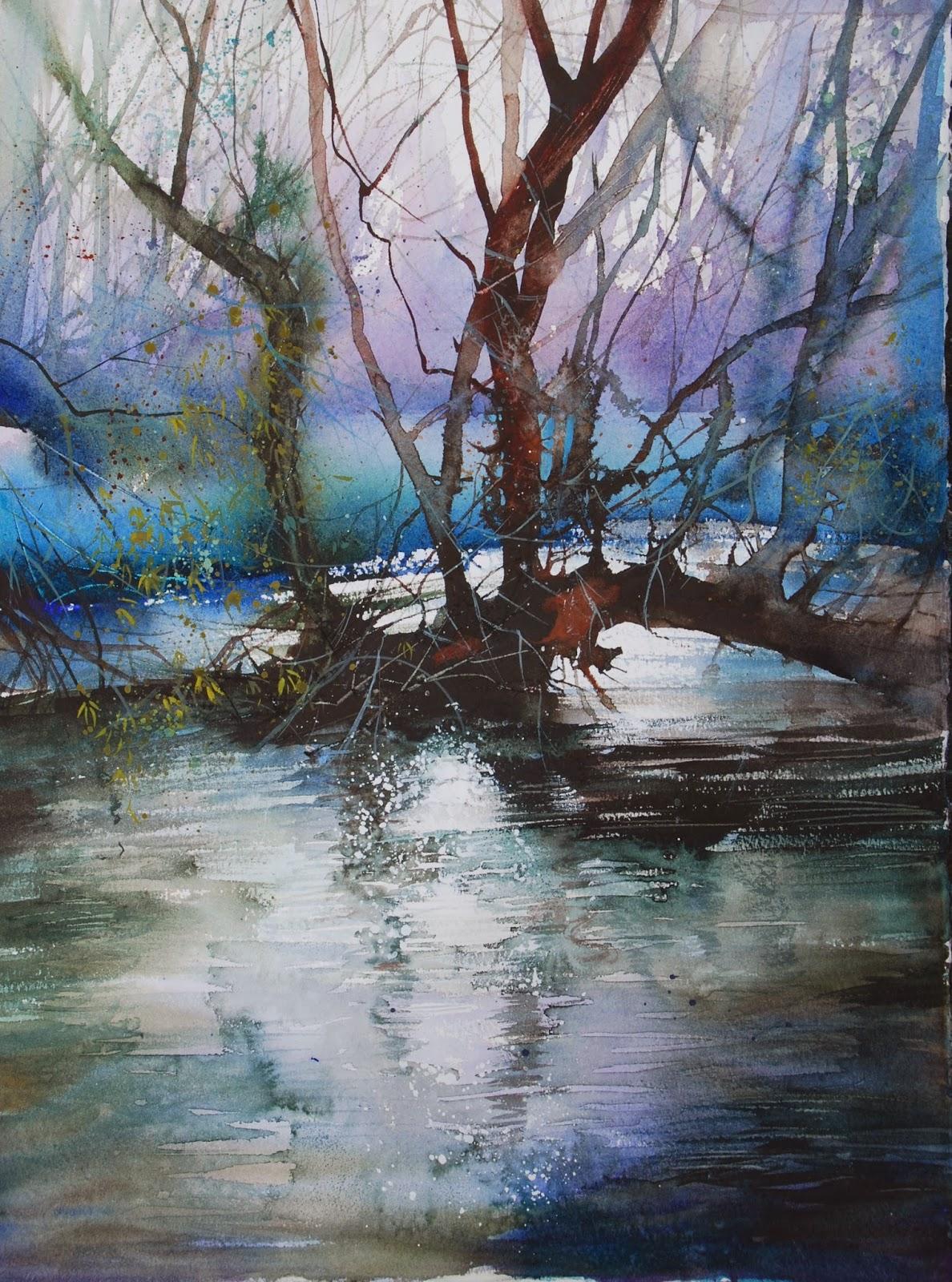 Ann Blockley -Watercolour Artist: February 2014