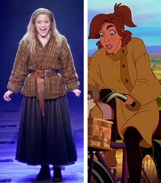 Anya figurino de Anastasia O musical