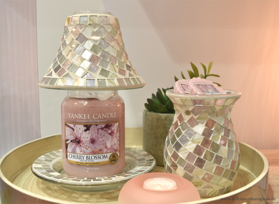 Yankee Candle Pure Essence Reihe - Cherry Blossom & Accessoires - Review & Duftbeschreibung