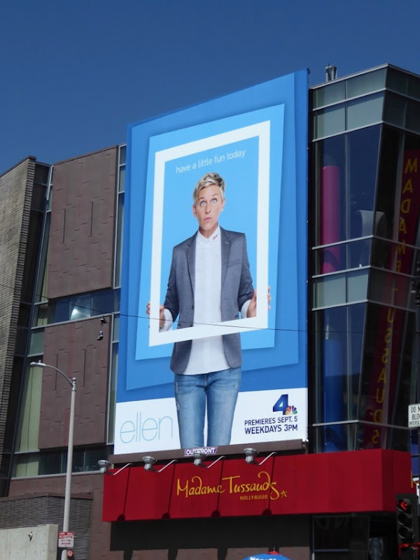 Ellen talk show season 15 billboard