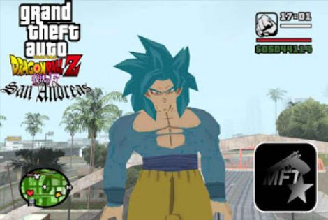 Download GTA San Andreas Goku Mod Game For PC