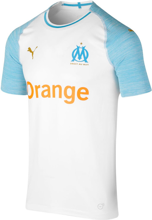 08a4dfd3f6 Puma Olympique Marseille 18-19 Home Kit Released - Footy Headlines