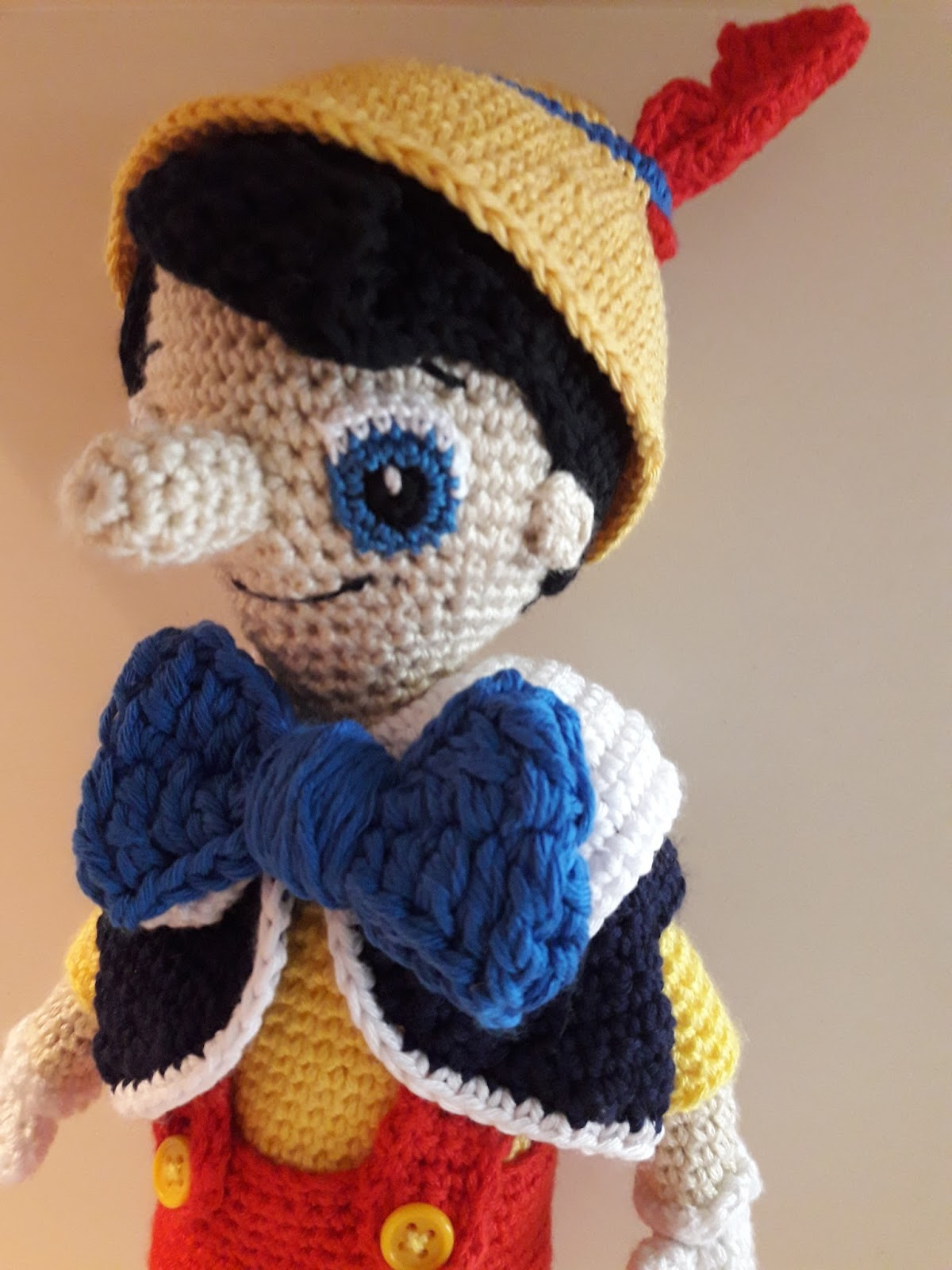 Amigurumi Dibujos Disney : By Clara crochet: Pinocho amigurumi
