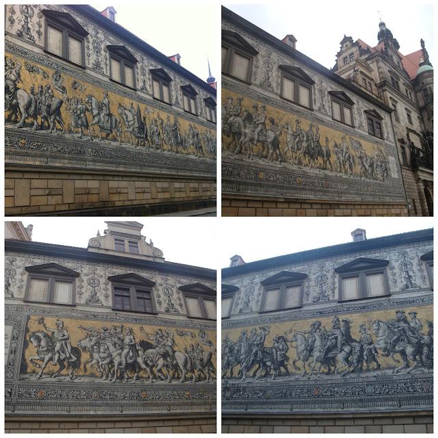 Dresden (Alemanha): destruída na Segunda Guerra Mundial e renascida das cinzas! Fürstenzug