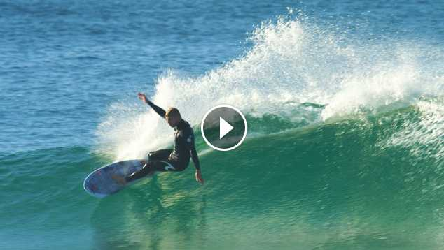 Mick Fanning Surfs The FCS II Keel Fin